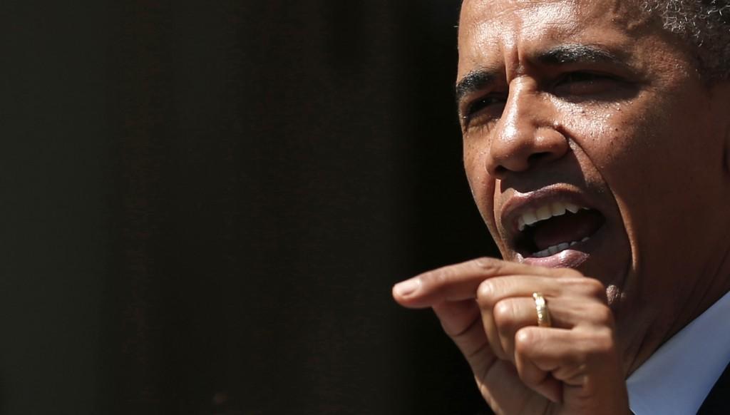 Il presidente degli Stati Uniti d'America Barack Obama