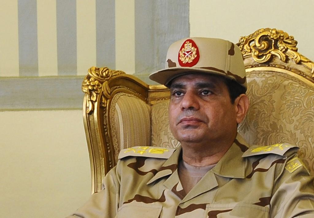 Il generale egiziano Abdul Fatah al-Sisi, 59 anni, a capo del golpe miliare in Egitto