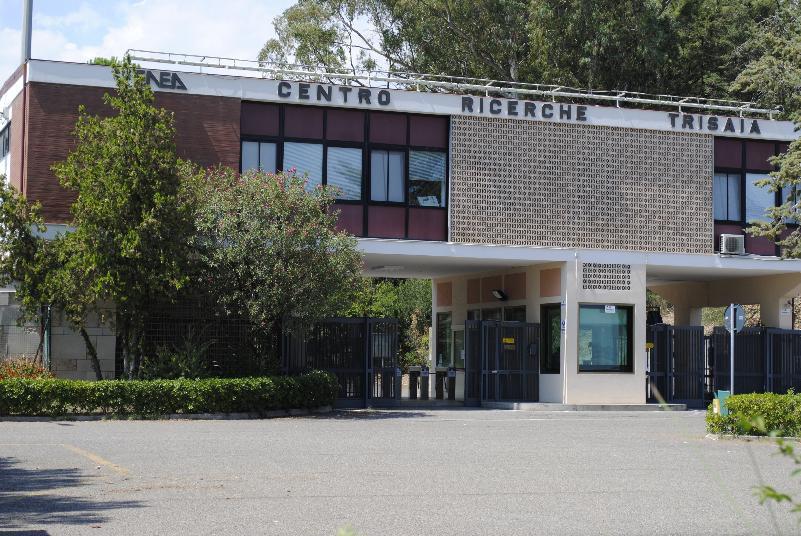 La centrale della Trisaia a Rotondella, in provincia di Matera