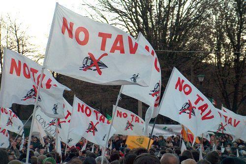 Una manifestazione no Tav