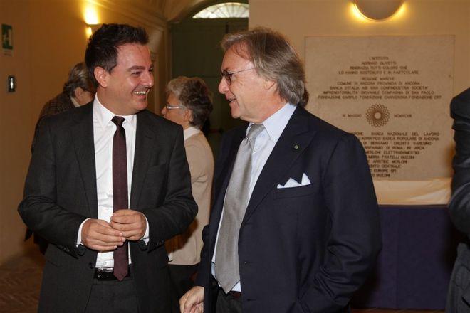 Iginio Straffi e Diego Della Valle