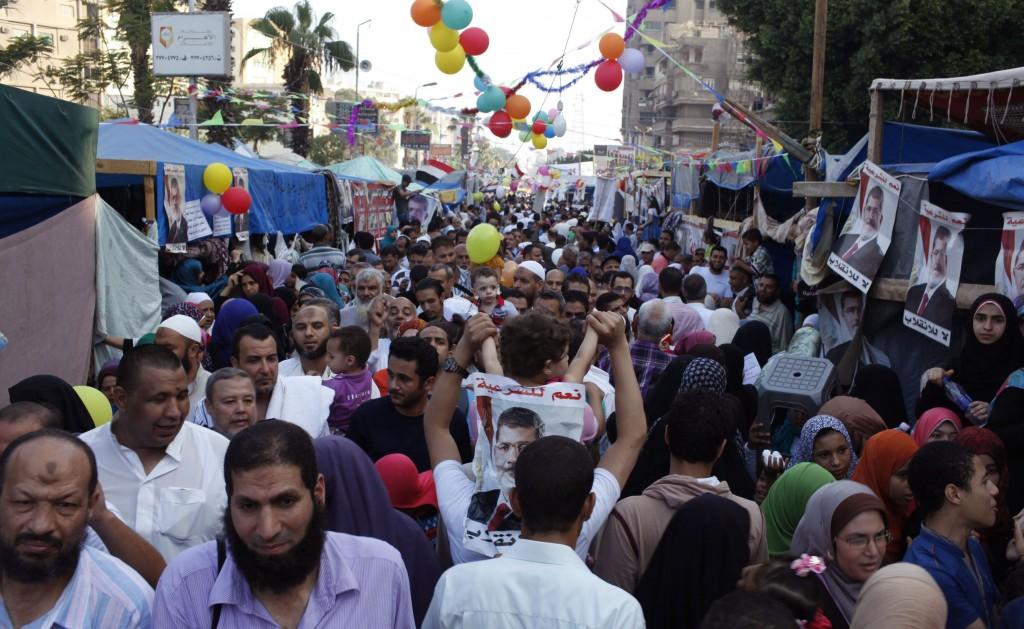 Il Cairo, festa di fine Ramadan