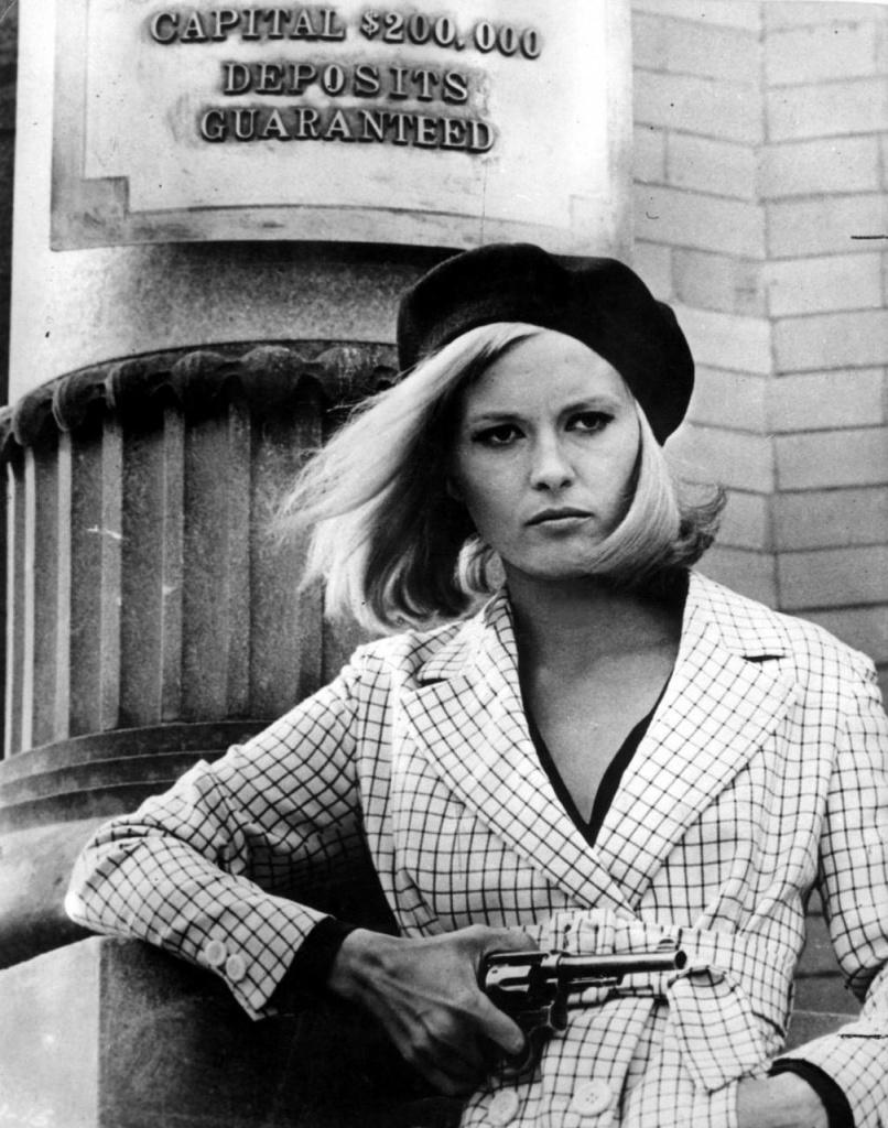 Una giovane Faye Dunaway in Gangster Story di Arthur Penn