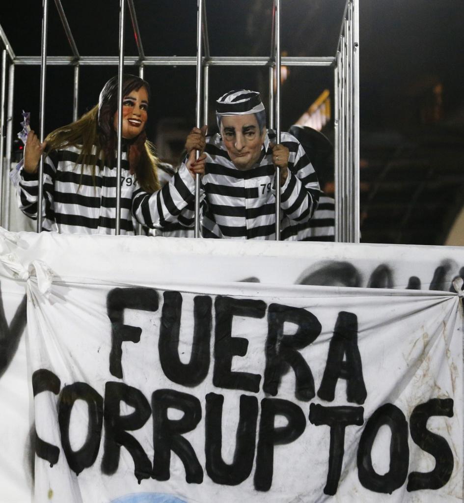 Manifestazione contro il governo Kirchner