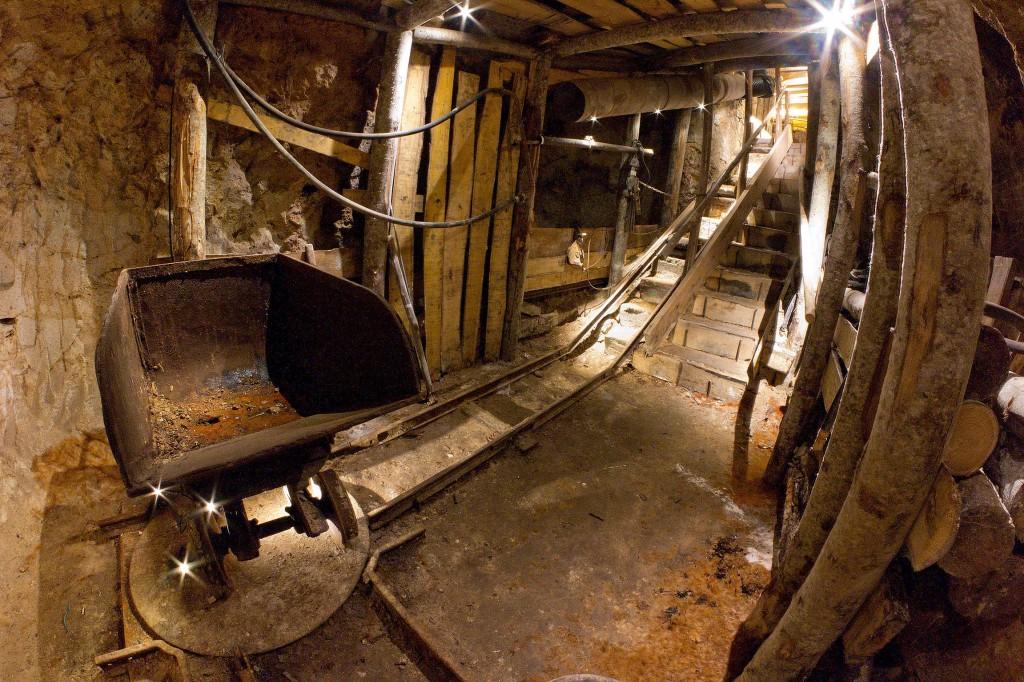 Il museo dei minatori a Santa Flora