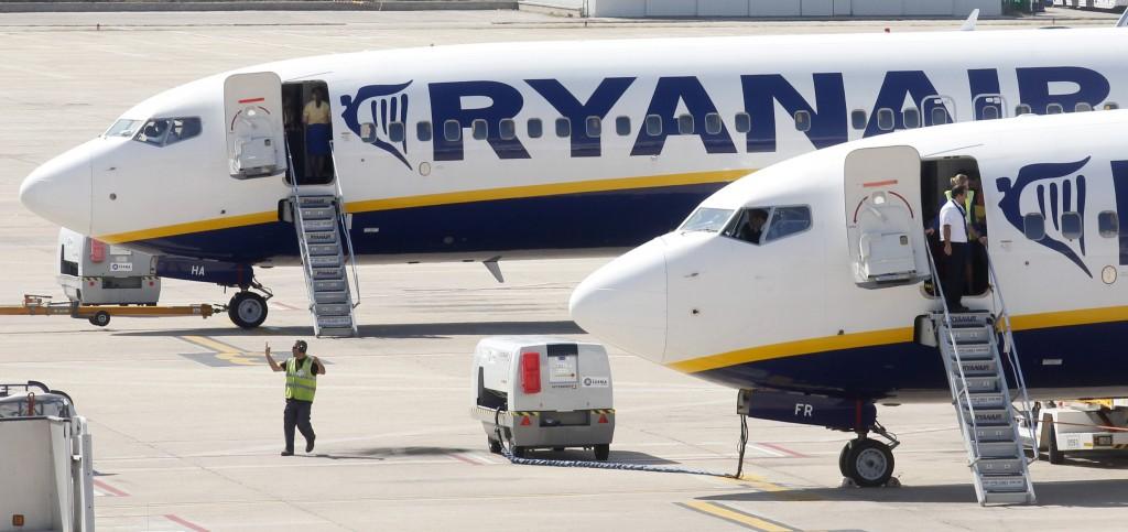 Aeromobili della compagnia Ryanair