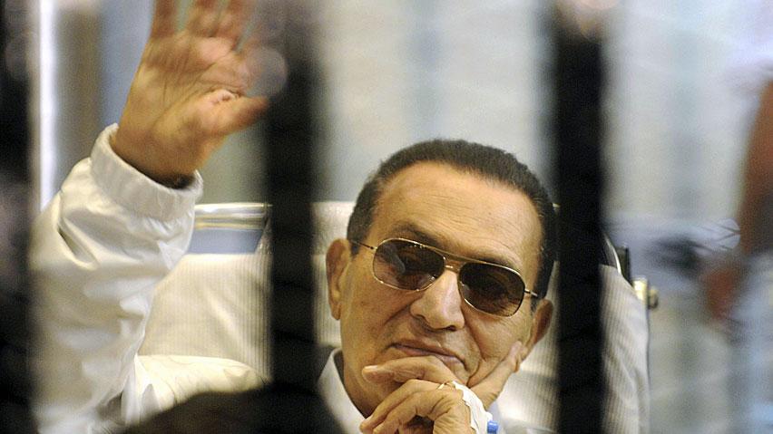 L'ex presidente dell'Egitto Hosni Mubarak