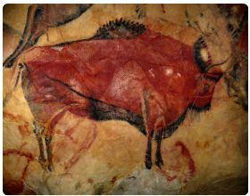 Disegni rupestri della grotta di Altamira, in Spagna