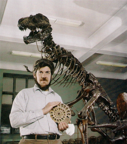 Il paleontologo Stephen Jay Gould