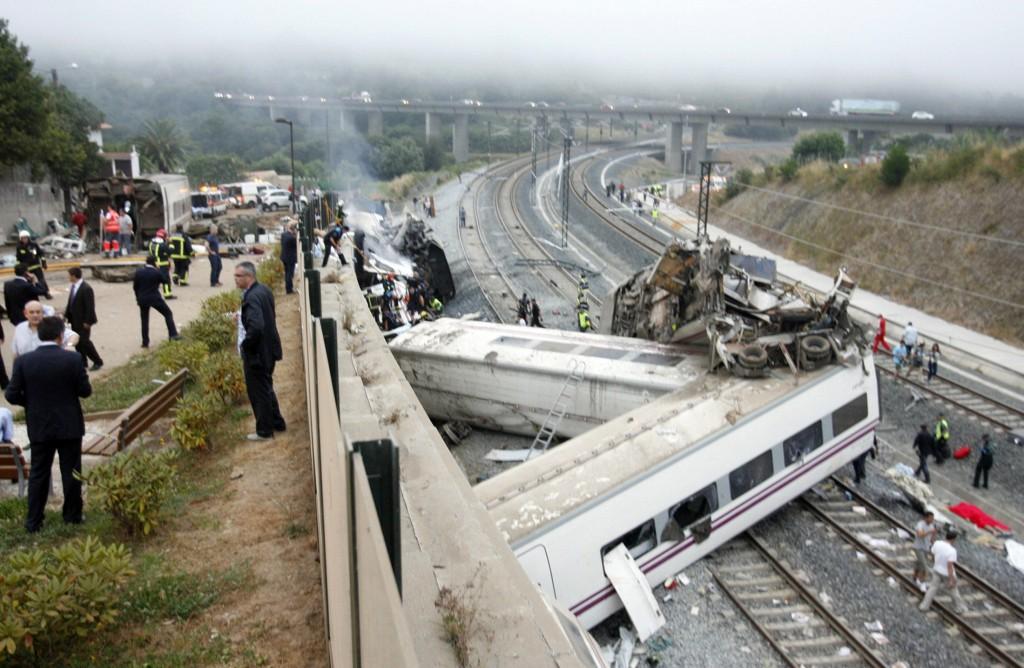 L'incidente ferroviario a Santiago de Compostela del 24 luglio scorso