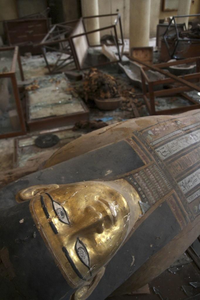 Il museo egizio Mallawi di Mina