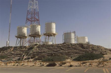 Il terminal petrolifero di Zueitina