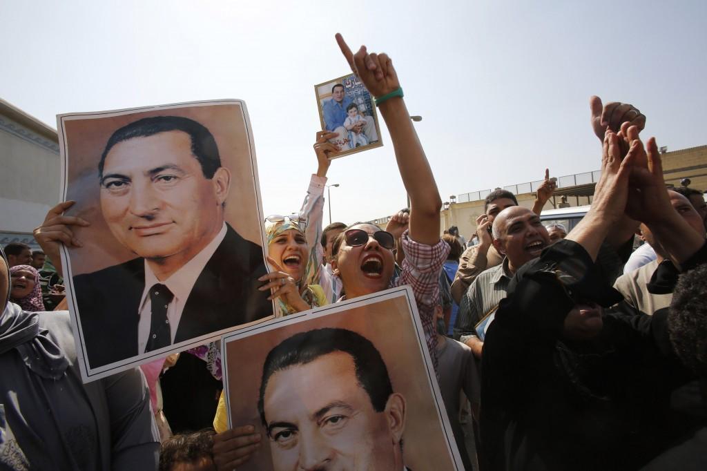 Supporter di Mubarak