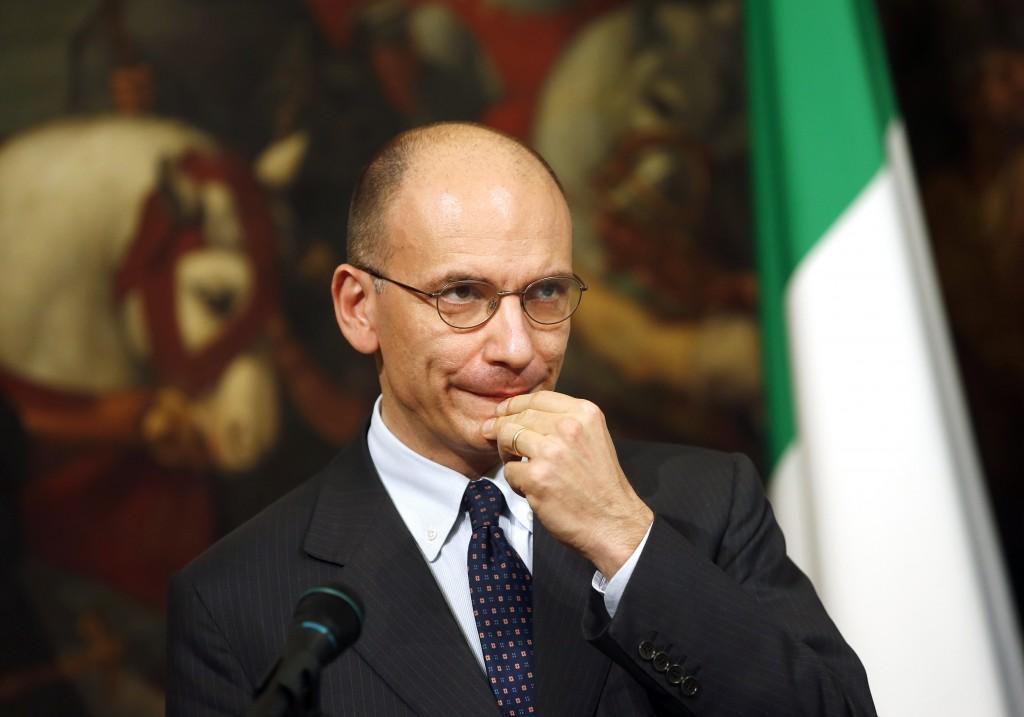 Enrico Letta, il presidente del consiglio