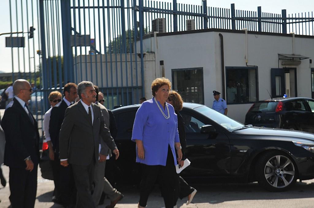 La ministra della giustizia Annamaria Cancellieri