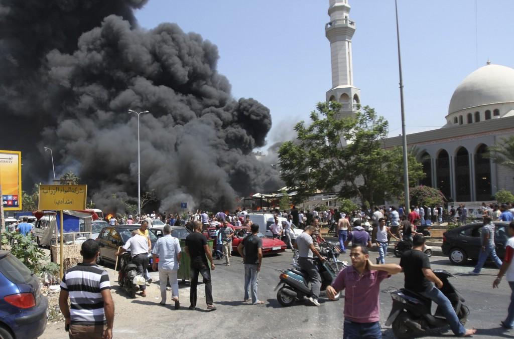 L'attentato di ieri a Tripoli