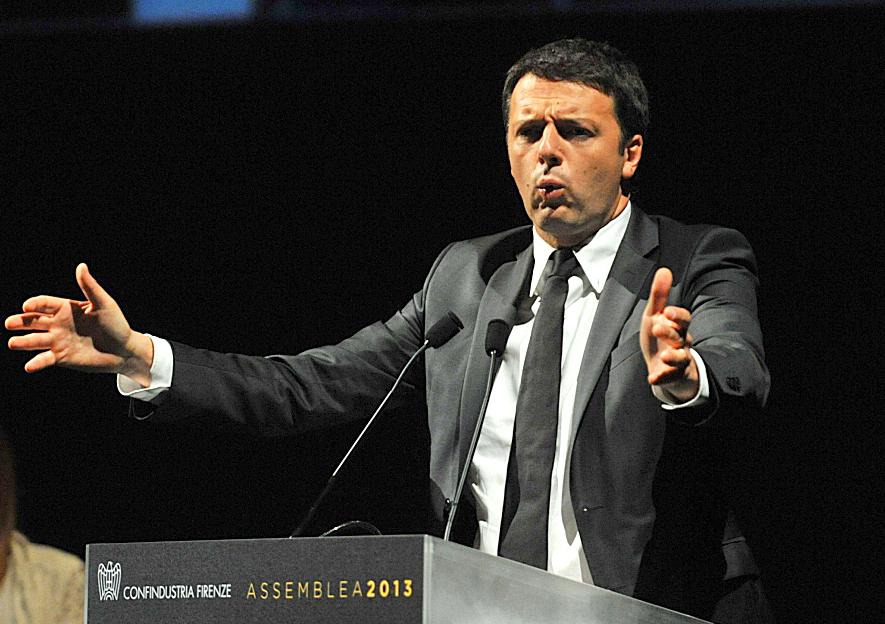 Matteo Renzi, sindaco di Firenze e (non ancora) candidato segretario del Pd