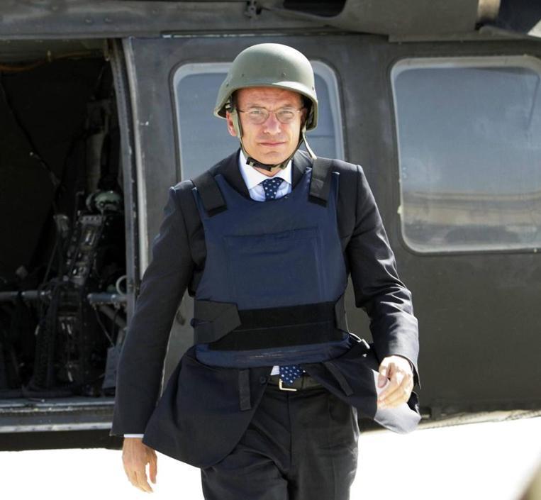 Enrico Letta a Kabul il 25 agosto scorso