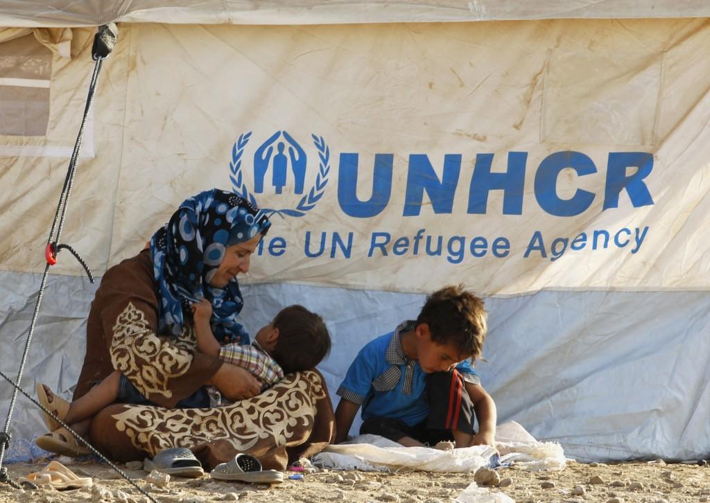 Un bambino siriano rifugiato nel Kurdistan iracheno
