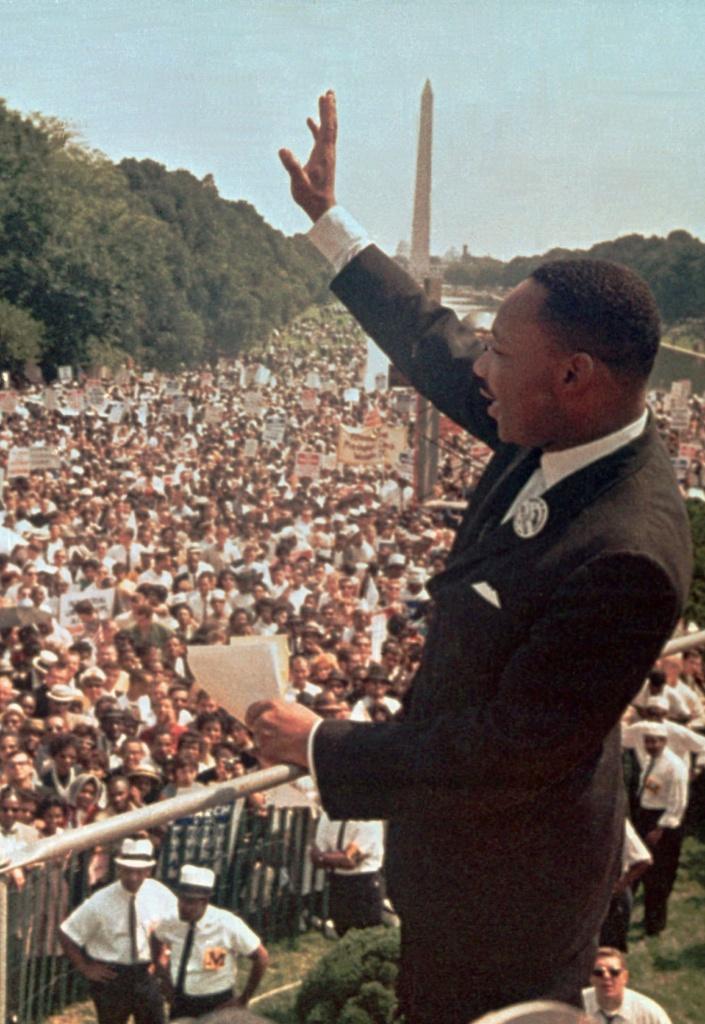 Washington, 28 agosto 1963, Martin Luther King pronuncia il celebre discorso