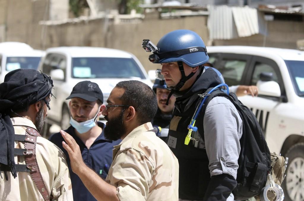 Siria, ispettori Onu