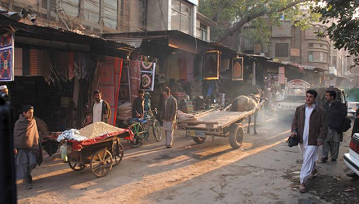 Una via di Peshawar