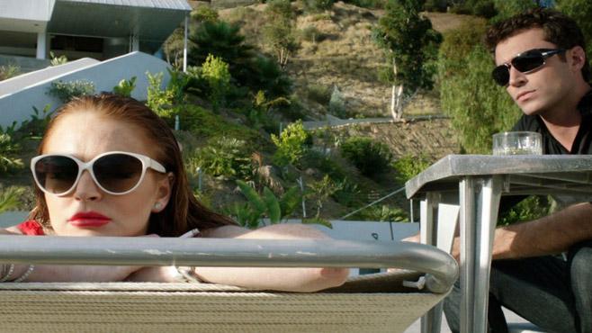 James Deen e Lindsay Lohan