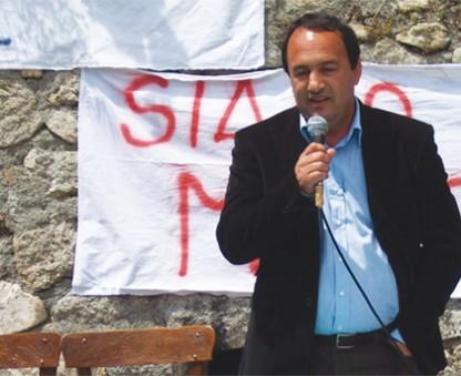 Il sindaco di Riace Domenico Lucano