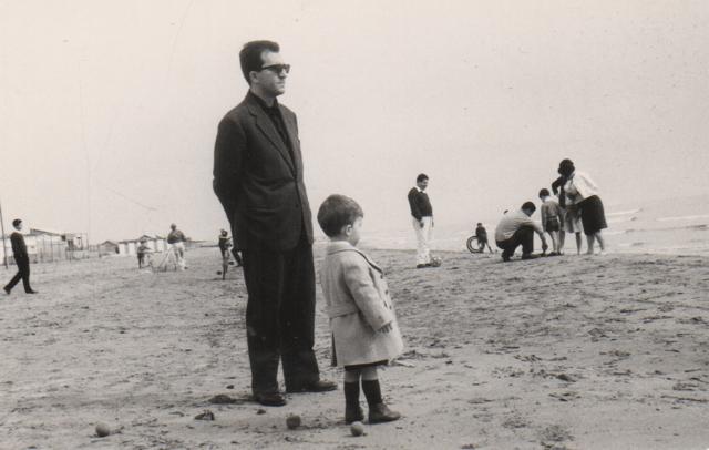 Lino e Francesco Miccichè nel flano del film