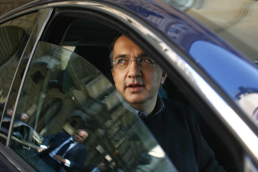 L'amministratore delegato della multinazionale Fiat Chrysler, Sergio Marchionne