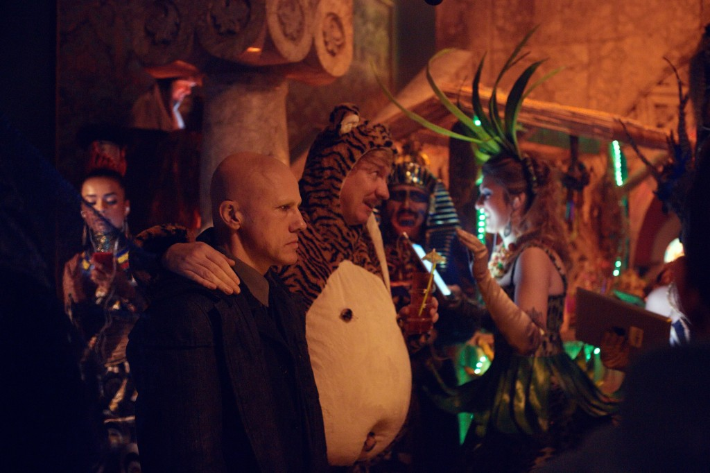 Christoph Waltz in The Zero Theorem di Terry Gilliam