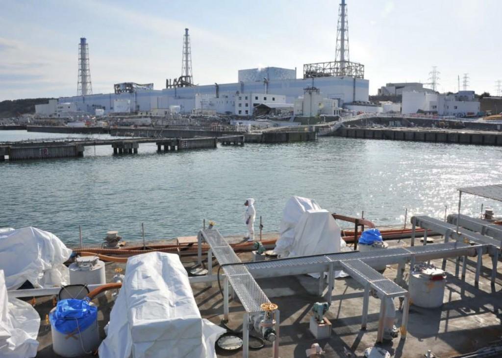 la centrale nucleare di Fukushima dopo il terremoto