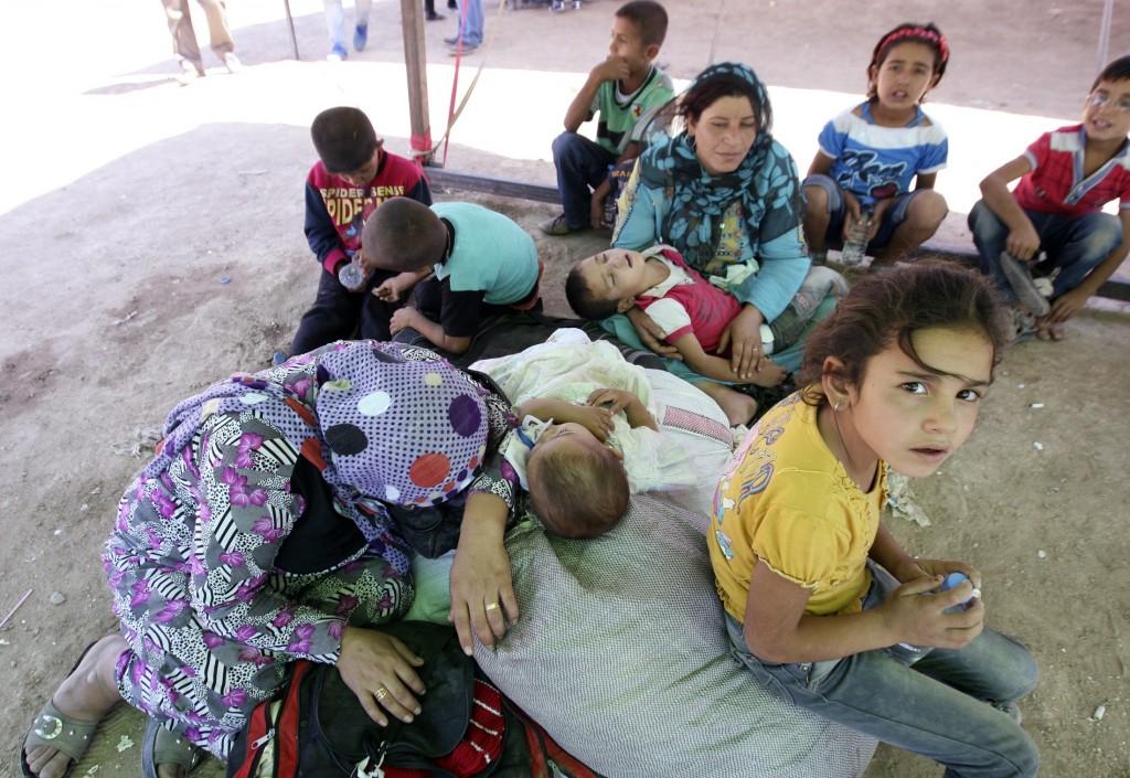 Profughi siriani in Iraq