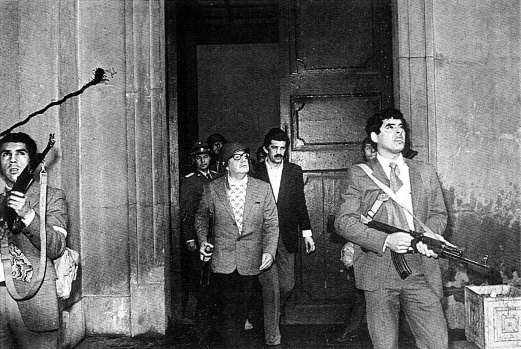 Salvador Allende nella Moneda assediata, 11 settembre 1973