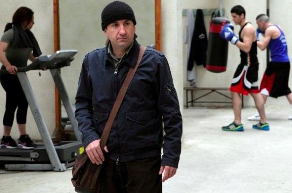 Antonio Albanese in «L'intrepido»