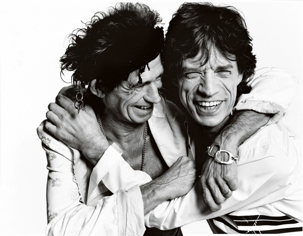 Keith Richards e Mick Jagger