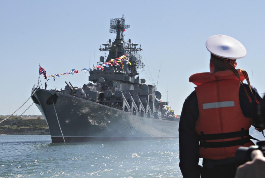 Navi russe in rotta sul Mediterraneo