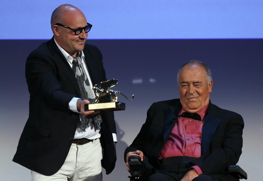 Gianfranco Rosi e Bernardo Bertolucci