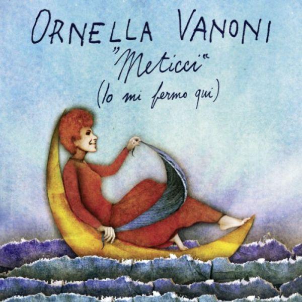 la copertina del disco «Meticci» di Ornella Vanoni