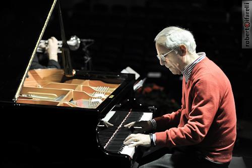 Il pianista Franco D'Andrea