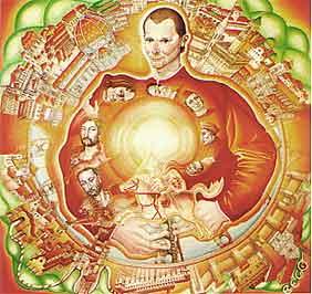 Un disegno di Machiavelli
