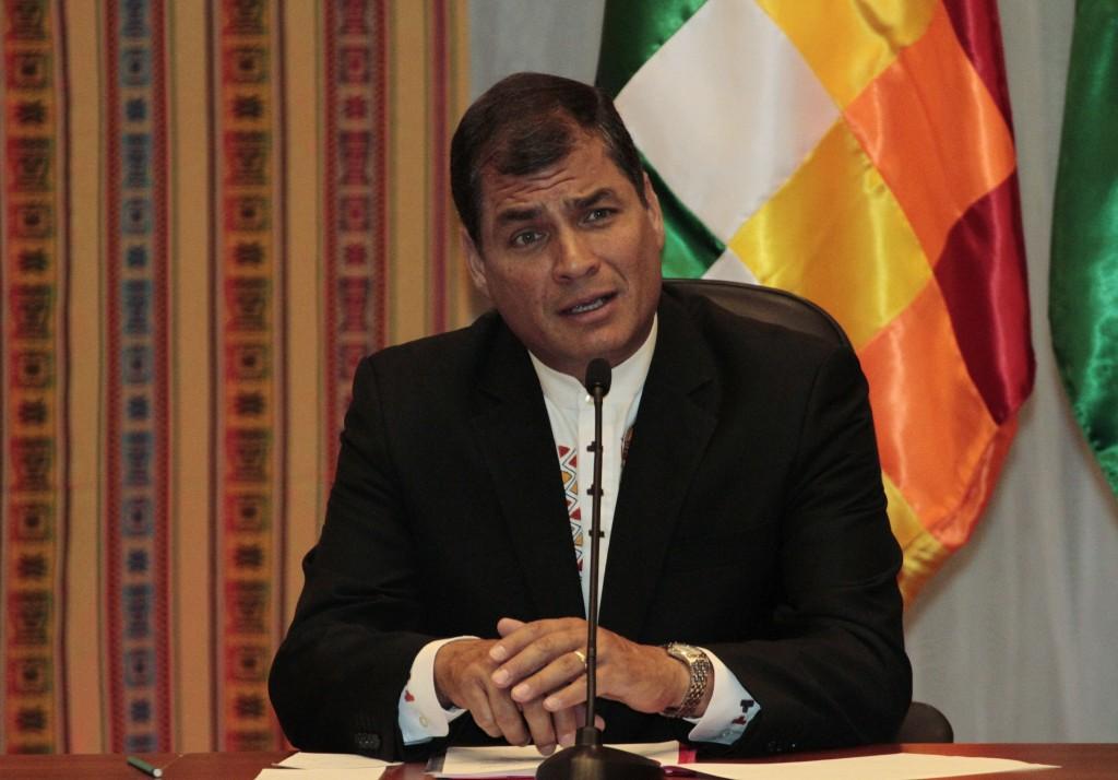 Ecuador, il presidente Rafael Correa