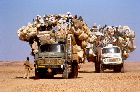 Esodo  nel Sahara
