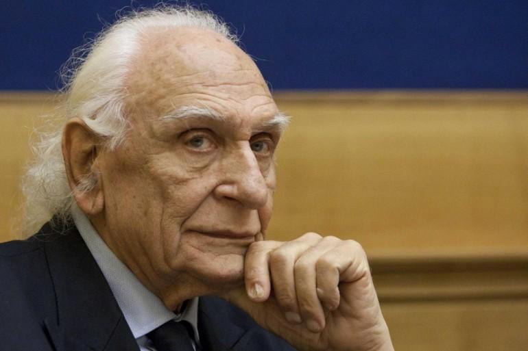 Marco Pannella, storico leader radicale