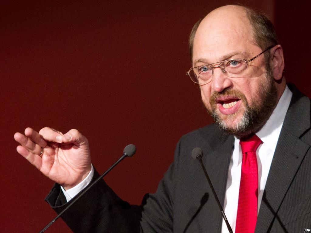 Martin Schulz, candidato presidente della commissione (sconfitto) per il Pse