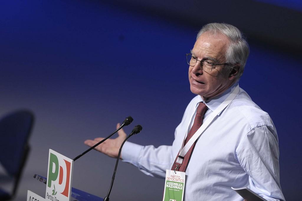 L'ex segretario della Cgil, oggi parlamentare del Pd, Guglielmo Epifani