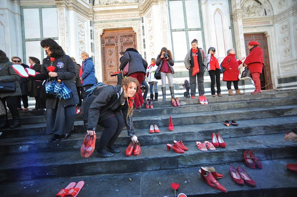 Iniziativa contro il femminicidio a Firenze