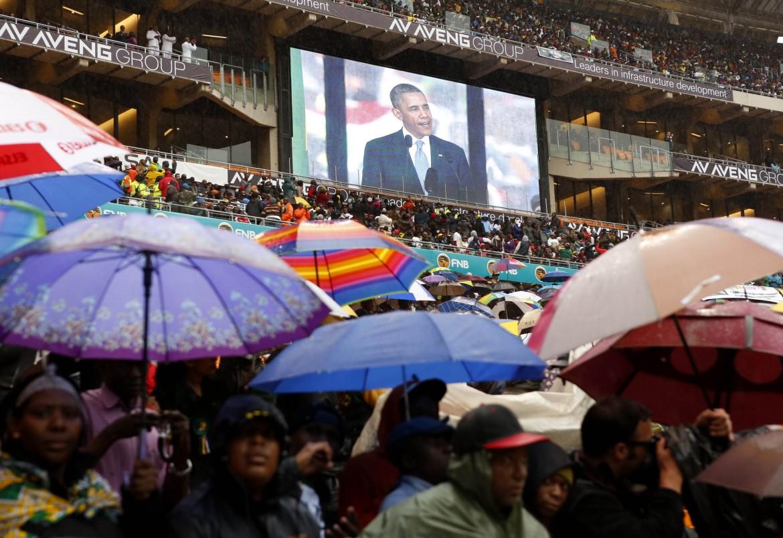 La commemorazione di Mandela da parte del Presidente Usa, Obama