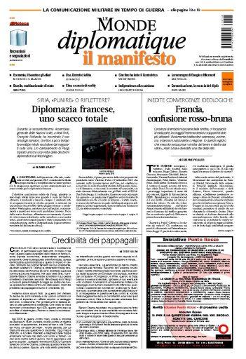 Le Monde Diplomatique ottobre 2013