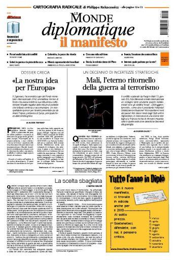 Le Monde Diplomatique febbraio 2013
